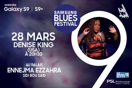 Denise King et Gas Blues Band
