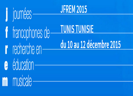 Francophone Days for Research in Music Education